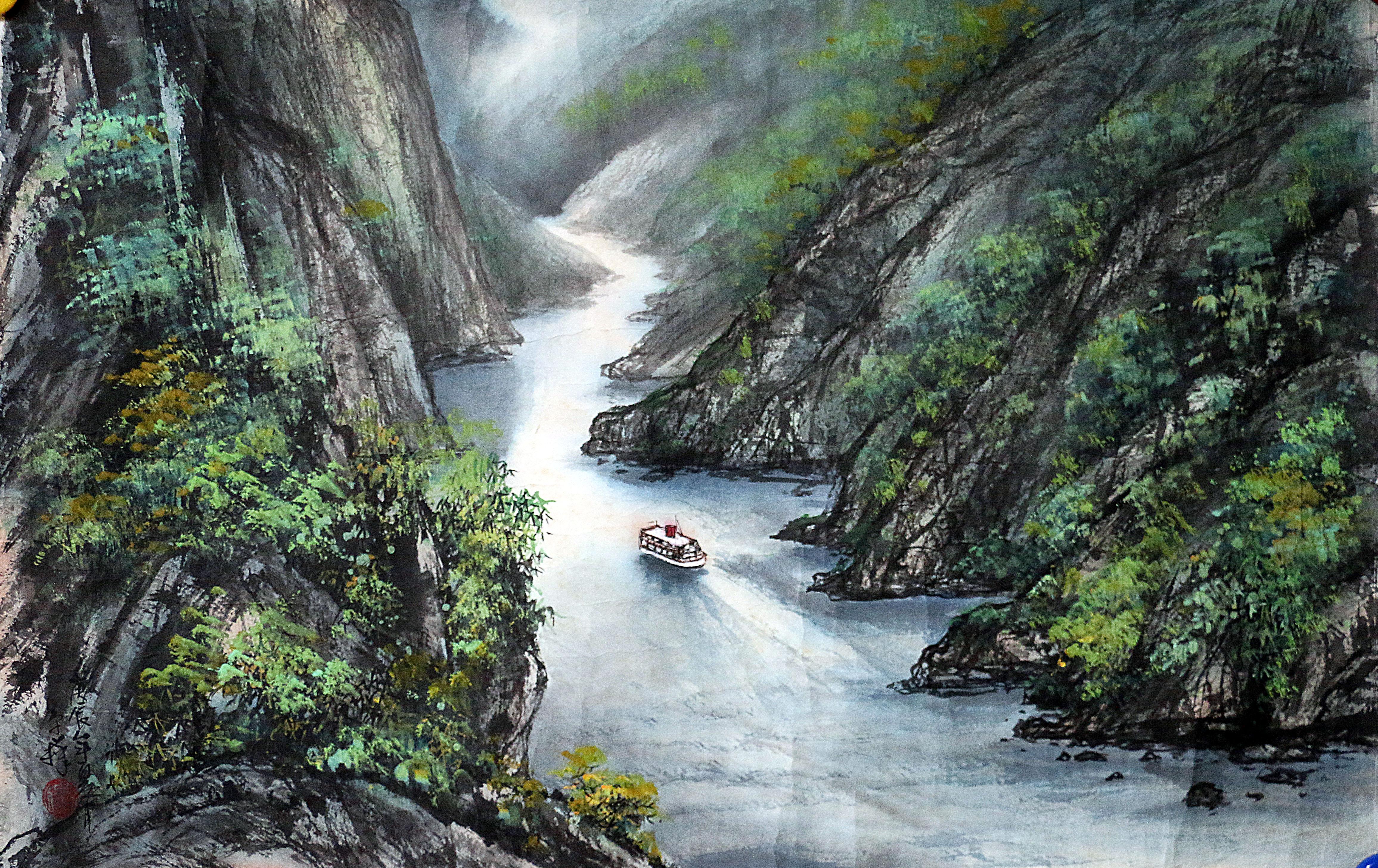 壁纸 风景 旅游 瀑布 山水 桌面 4624_2912